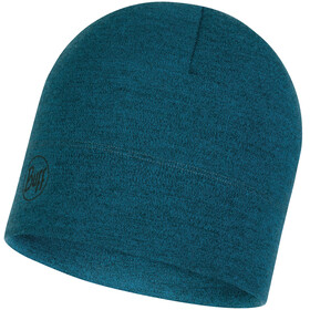 Buff Midweight Merino Wool Headwear blue